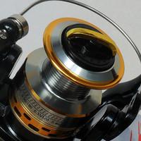 Biggest promotion free shipping the carp fishing SG4000 Superior Fishing Reel Baitrunner Ryobi 6+1BB line winder