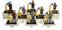 New Hot 8pcs Building Blocks sets eductional bricks blocks ninja Toys minifigures Avengers Super Heroes IRON Man children toys