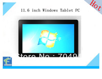 The Newest 11.6inch windows 8 tablet pc 4G RAM 16000mAh battery  free shipping