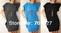 2014 Hot New Dress 6 Colors Free Shipping Sexy Dress Fashion Slim Dresses Summer Dress Women
