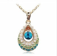 CN55 Diamond Fashion full diamond drop pendant Austrian rhinestone crystal     Y102-6 wholesale