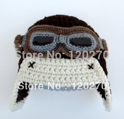 Crochet Aviator Hat Pattern Free With Goggles Aviator Hat Crochet Pattern