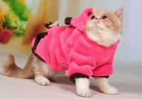 2014 new O coral fleece dog sweatshirt autumn and winter thermal cat pet clothes teddy dogs chigoes clothes b
