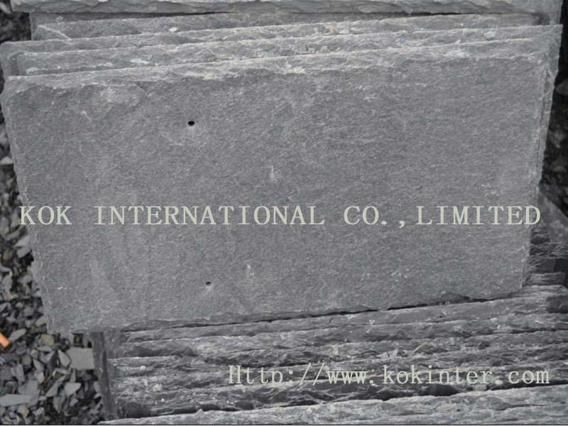 Black Natural Stone flooring Slate(China (Mainland))