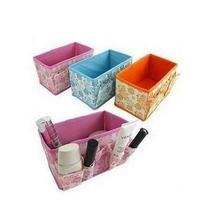 Free shipping wholesale 5 pieces/Lot cosmetics desktop storage box storage box finishing box multicolor home storage CC02