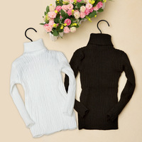 Autumn / Winter New style children's sweater,boy  girls  free size black/white Sweater Pullovers cotton  wholesale and retail