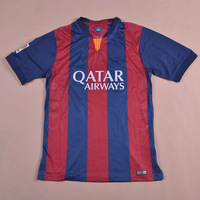 BARCA TRAINING 2013/14 Top Thailand Quality Soccer jersey football kits Embroidery Logo Uniform 100% Polyester