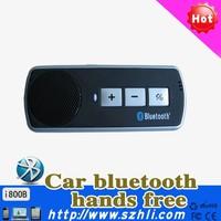 Handsfree Speakerphone Car Kit Wireless  volume control  I800B plug and play  for mobile phone