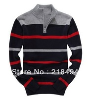 Hot Selling Half Zip Sweater Brand Long Sleeve Sweaters for Men Vest Fashion Drop Shipping