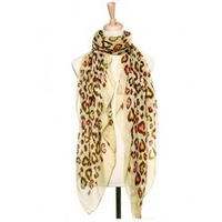 Free Shipping Vintage Fashion Style Shawl Scarves 2013 for Women New Hot Sale Wholesale Voile Scarf Leopard