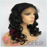 Synthetic Hair Wigs Body Curl Style 1B Color 10-24 Inch In Stocking Free Shipping Front Lace Wigs Synthetic