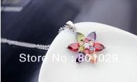 2013 Top grade necklace ,AAA grade zirons cute fashion women necklace free shipping