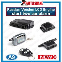 Factory Wholesales in stock two way remote engine start  starline car alarm system starline a9 alarm for car  with shock sensor