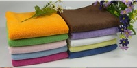 Free Shipping 25X50cm Colorful Microfiber Towel For Car Cleaning Used/Wholesale Microfiber Towels/Bamboo Products For The Car