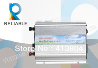 500W Grid Tie Pure Sine Wave Solar Inverter  DC10.5V~28V, AC 90V-140V/180V~260V,DC To AC inverter