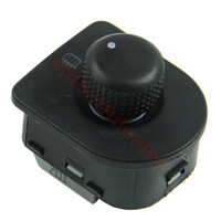 Free Shipping New Side Mirror Switch Knob W/ Heat For VW Golf Passat B5 GTI Beetle Jetta MK4