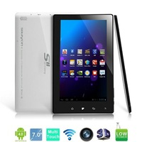 High Quality Phone Call Tablet PC Soulycin S8(CDMA2000) 7 Inch Android 4.0 8GB ROM 512MB RAM Camera HDMI Bluetooth