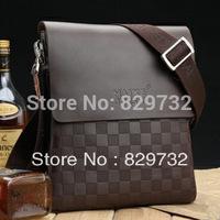 Free shipping 2014 paul male genuine leather shoulder bag messenger business bag