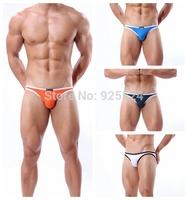 [brief & boxer] BRAVE PERSON Bikini Swim Brief  Low-waist (White, sky blue, orange, dark green)(S,M,L)Can Mixed batch