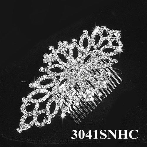 Free Shipping 2013 New Arrival Rhinestone Elegant Wedding Hair Combs Bridal Hair Combs