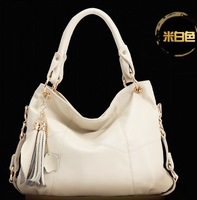 women's fashion genuine leather handbag big bag vintage bag women's cross-body shoulder bag