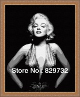 JIUJIU DIY digital oil painting Free shipping home decoration the picture unique gift 40X50cm Marilyn Monroe paint by number