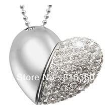 wholesale heart shape usb flash drive