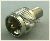 UHF Male to F Female Adapter RF Connector,High Quality and Cheap UHF RF Connector