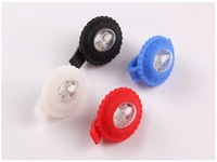 Free Shipping+2PC/Lots HJ015-2 2 LEDs Bicycle And Safety Light Set