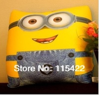 free shipping despicable me bolster for women and men minions cartoon hold pillow four styles to choose