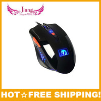 New 2013 fashion usb wired the gaming mouse design laptop computer components peripherals 6d 2000dpi snake optical game mice