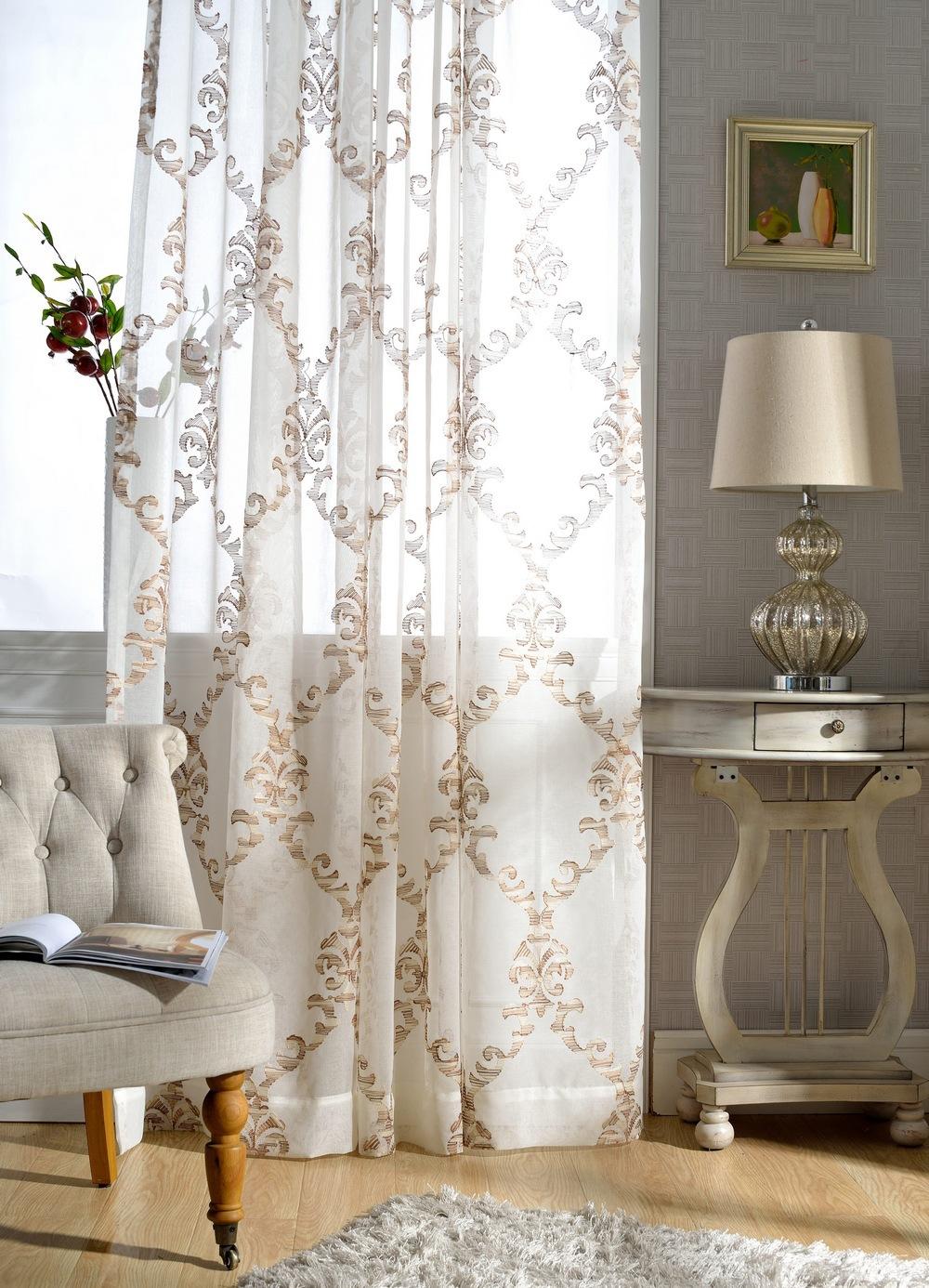 acquista all 39 ingrosso online puro tessuto ricamato da grossisti puro tessuto ricamato cinesi. Black Bedroom Furniture Sets. Home Design Ideas
