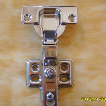 LK-F321  304 Stainless steel hydraulic kitchen cabinet hinge(Half overlay)