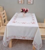 "Clearance Sale Embroidery Table cloth/8 chair Tablecloths/ SIZE:150X220CM/59x87"",8691D"