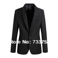 2014 new brand authentic Korean version of leisure suits men Slim small suit male coat tide male British single suit jacket