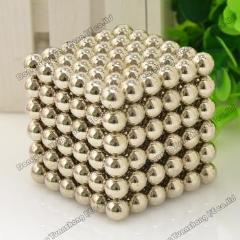Free shipping 9.7mm Neo cube 216pcs/set/ Buckyballs,Magnetic Balls, neocube, magic cube/ color:nickel