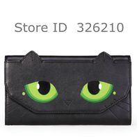 Free Shipping real leather women's purse animal print bag cat bag