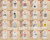 Free shipping 1pcs/lot 2013 New Hot Women Casual Full Sleeve Cotton T Shirt White Color Wholesale Price 37COLOR TO CHOICE