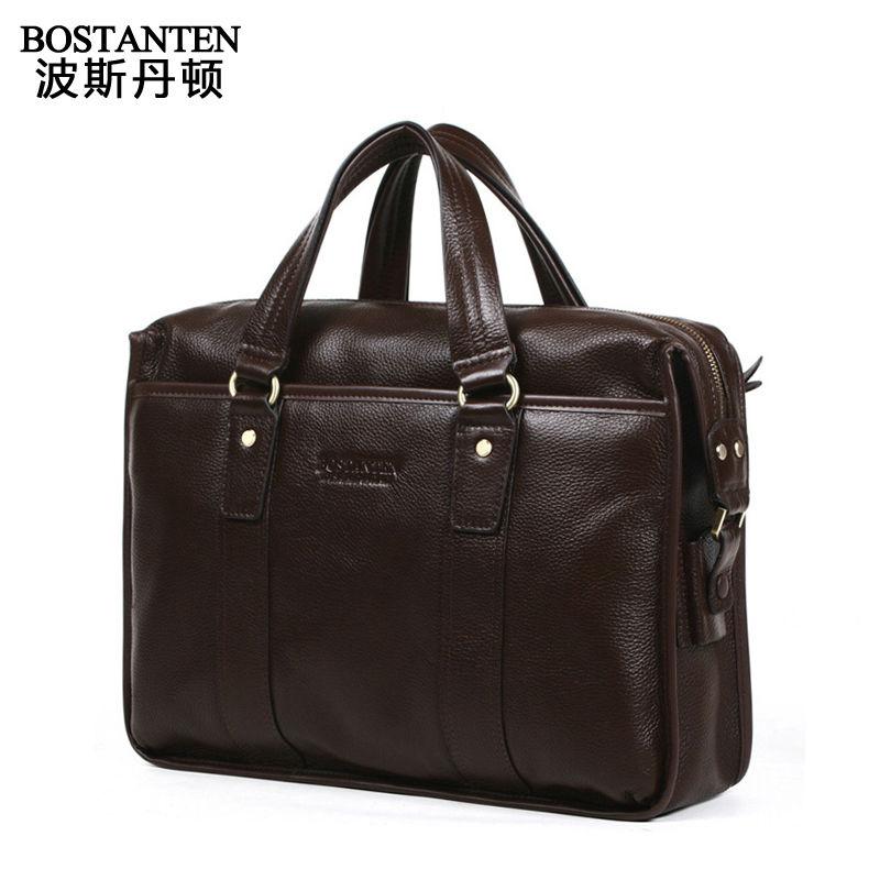 Livraison gratuite 2013 nouvelle mode vintage en cuir véritable de vachette chic, occasionnelsprix brunetaille hommes cartable sac messenger shoulder bag