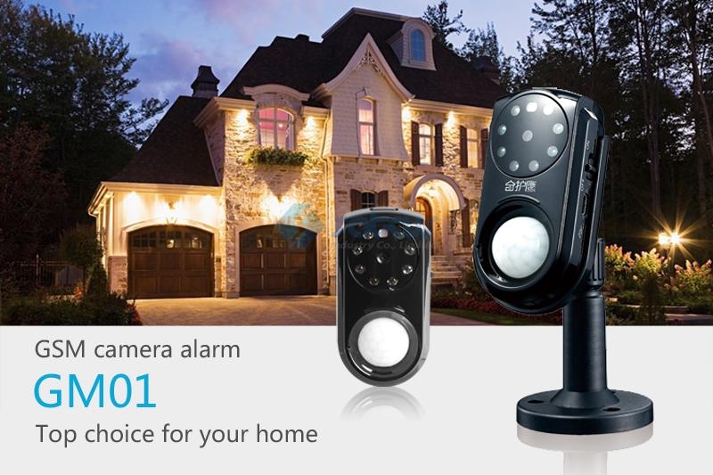 Gsm di sicurezza mms sistema di allarme con telecamere pir rilevazione di movimento visione notturna sms mms funzione 850/900/1800/1900 MHz sc-101