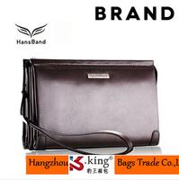 B.King Name Brand Genuine Leather Men Clutch Wallet , Fashion Long Desigual High Quality Leather Men Handbag With Strap , MHB004
