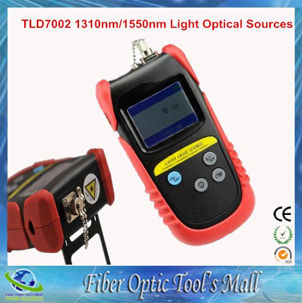 Fiber Optic Test TLD7002 SM 1310nm/1550nm Light Optical Sources Fiber(China (Mainland))