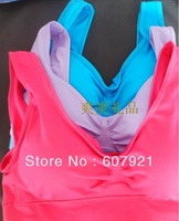 3pcs=1packs/lot Genie Bra Women's Two-double Vest With Removable Pads BODY SHAPER Push Up BREAST Ahh Bra shapper in OPP Bag