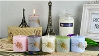 European pillar candles Smokeless candle Scented candles a set of 4 pieces  5*10cm