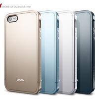 Newest SPIGEN SGP Linear Metal Color EX Slim Linear Case Cover For Apple iPhone 5 5G 5S  1pcs/lot
