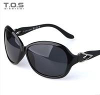 New Fanshion TOS Female women polarized sunglasses anti UVA&UVB Large frame and Adjustable free shipping