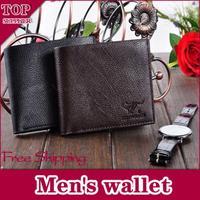 Free Shipping men wallet,Concise style Personality  notecase man burse gentleman purse boy moneybag/ID credit card wallet
