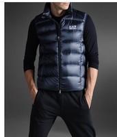 Free Shipping!  Men White Duck Down Vest Men's Fashion Down Vest Winter Men Outerwear top quality