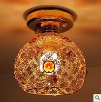 Exquisite modern, wrought iron lamp corridor absorb dome light, droplight porch lights corridor lights hallway lights