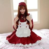 Free shipping ,Maid Costume-Dress,Sexy Costume,Maid Uniform,Maid Cosplay Costume
